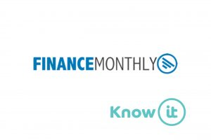 Image with Know-it logo and Finance Monthly logo