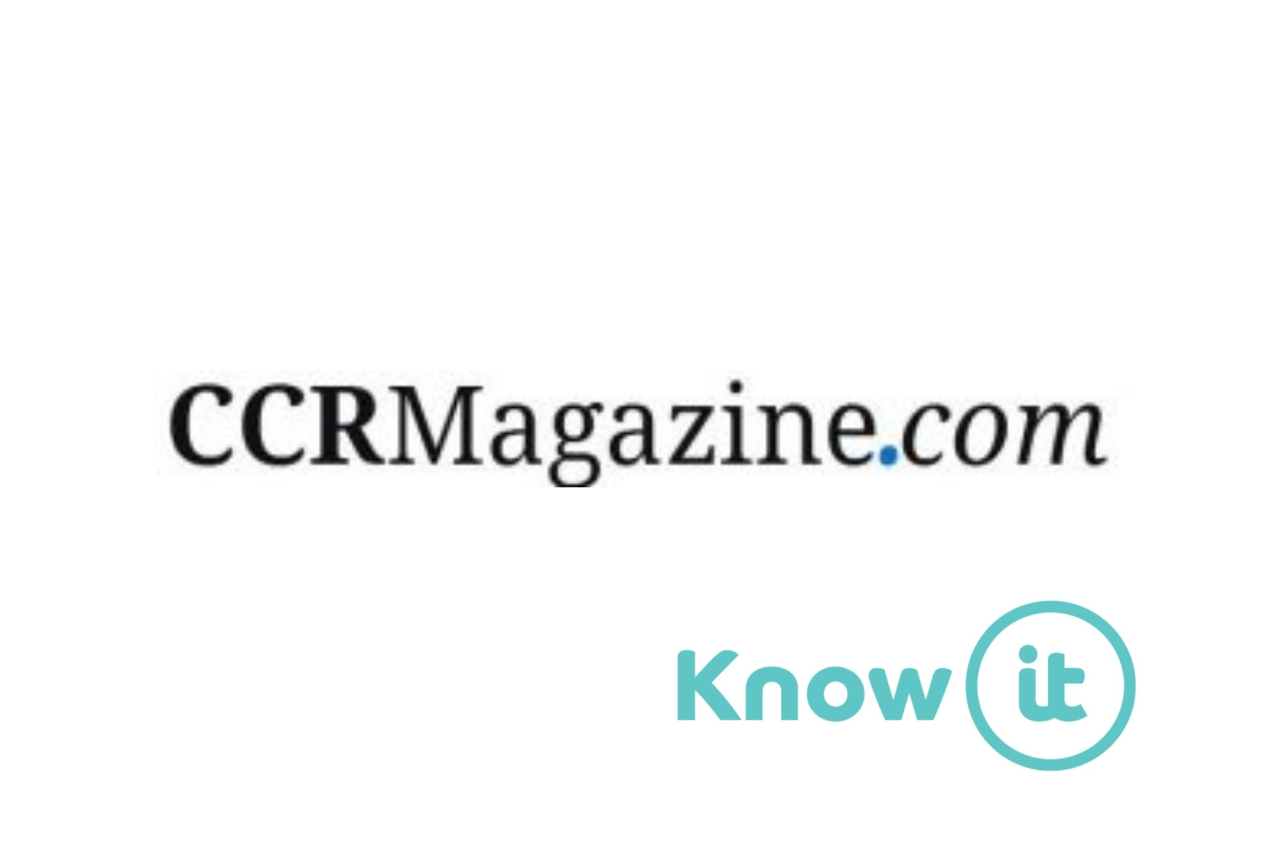 Image with Know-it logo and CCR Magazine logi