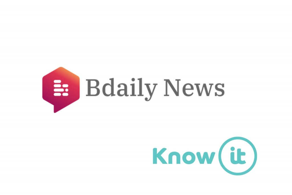 Image with Know-it logo and BDaily News