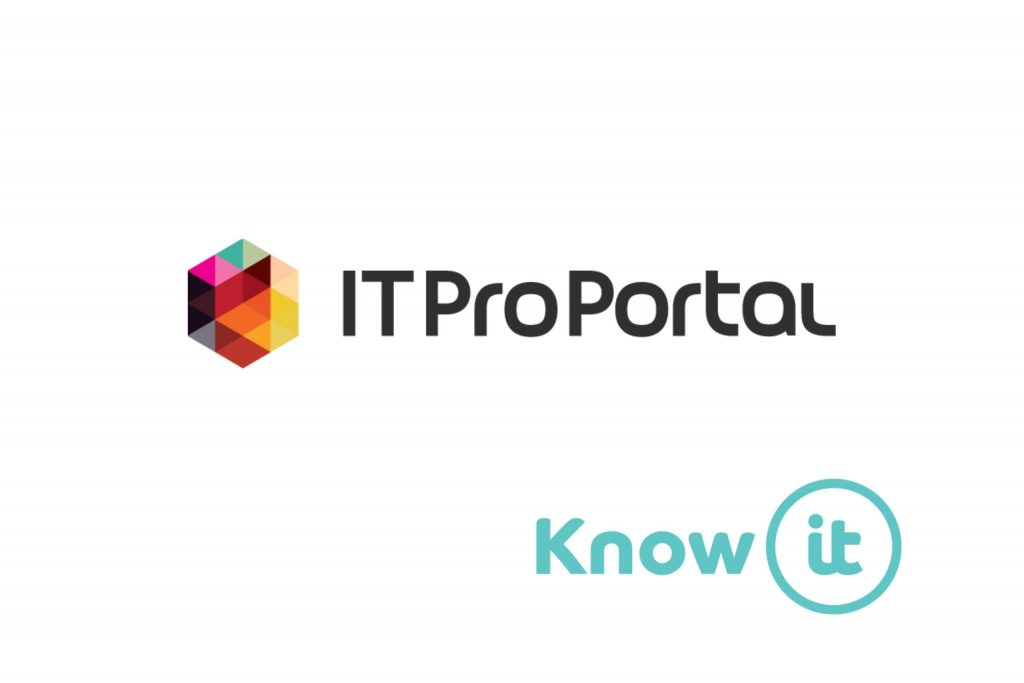 Image with Know-it logo and IT Pro Portal logo