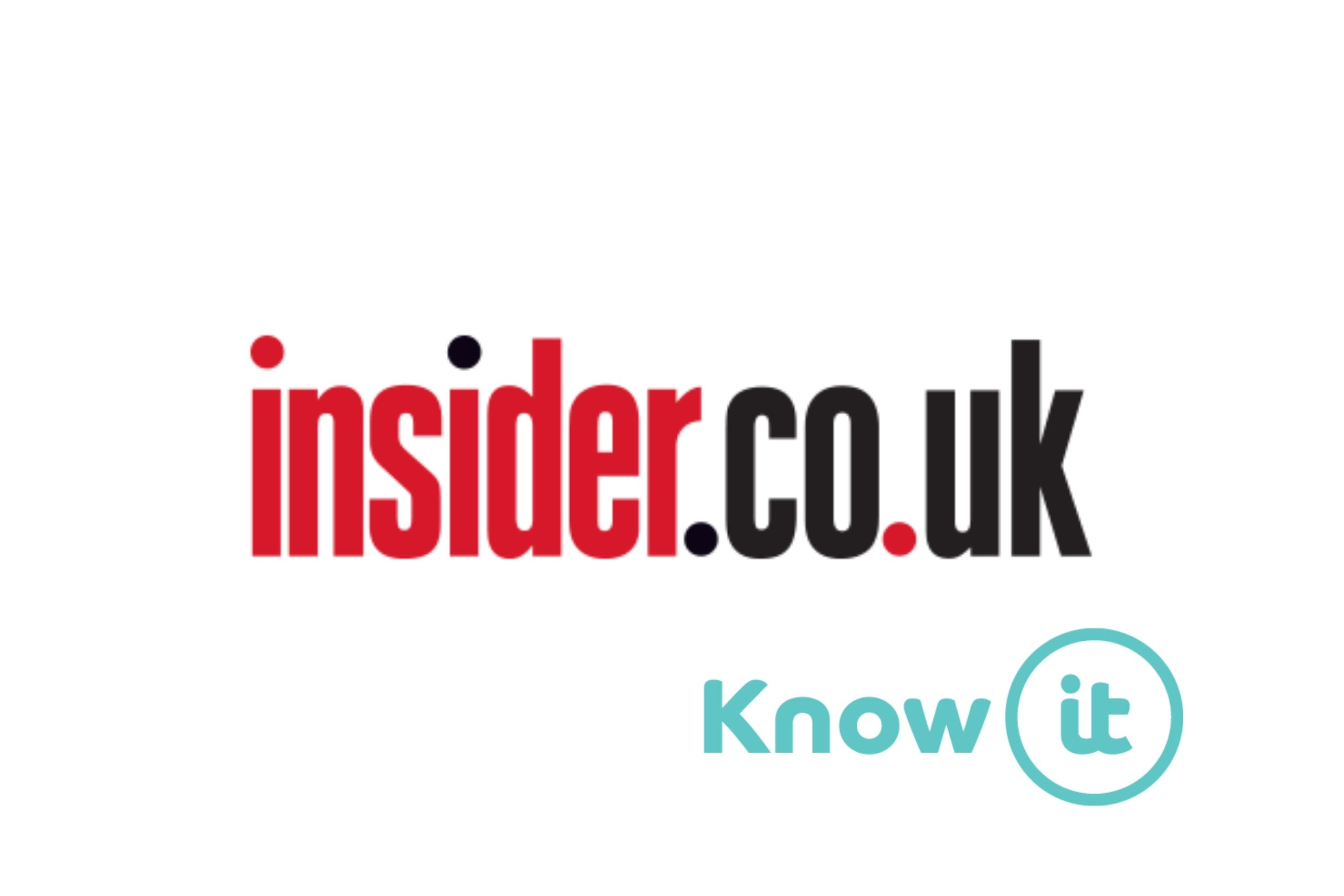 Image with Know-it logo and Insider.co.uk Logo