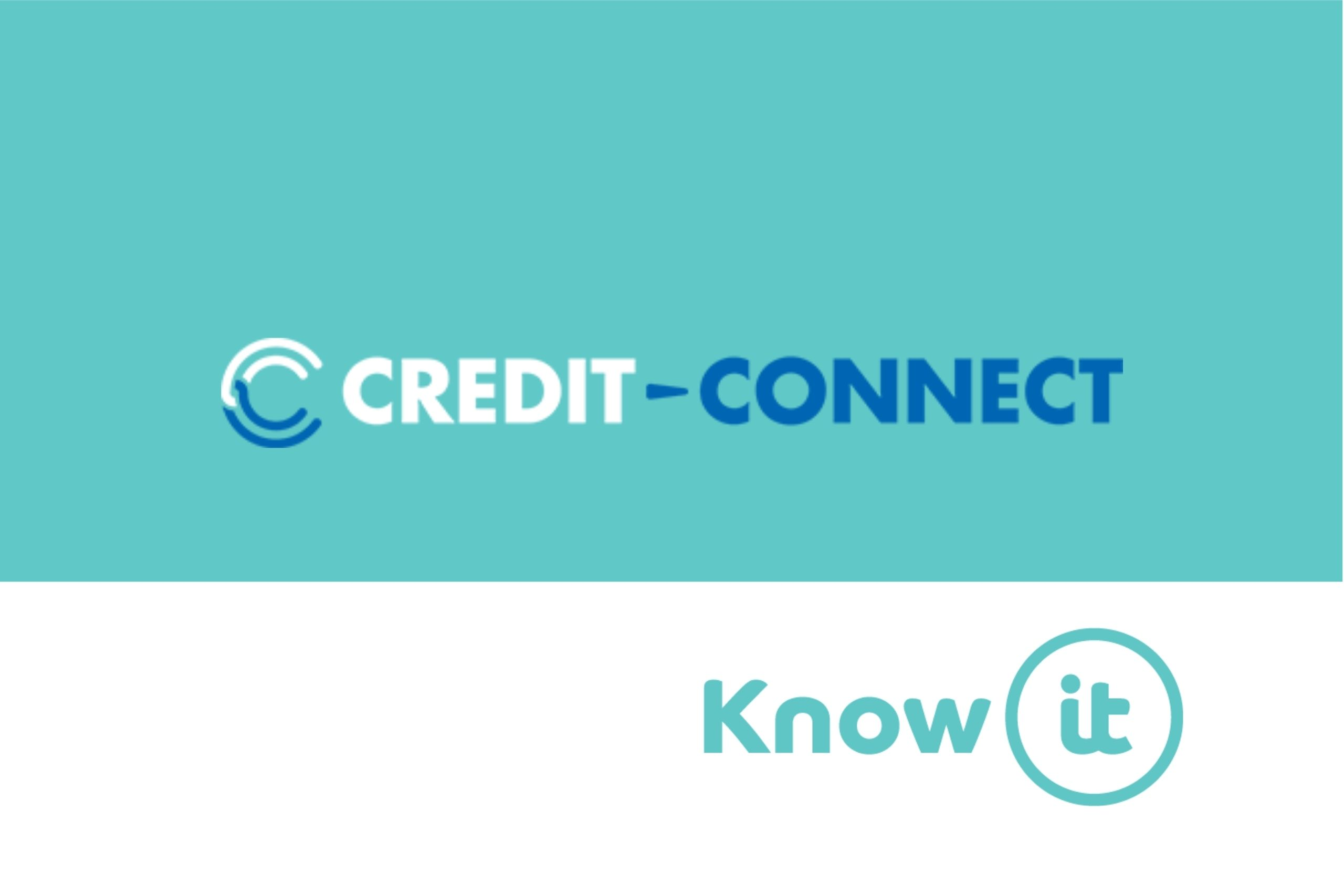 Image with Know-it logo and Credit Connect Logo