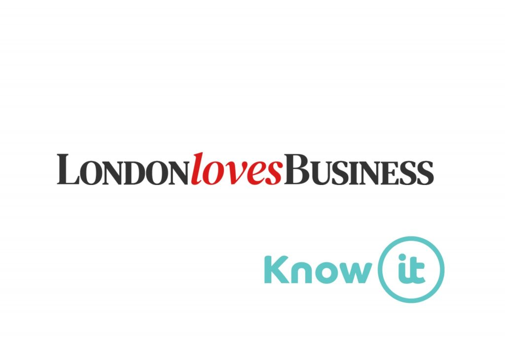 Image with Know-it logo and London Loves Business Logo