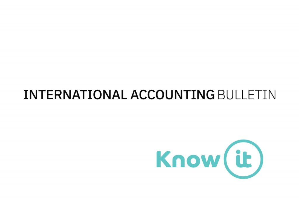 Image with Know-it logo and International Accounting Bulletin Logo