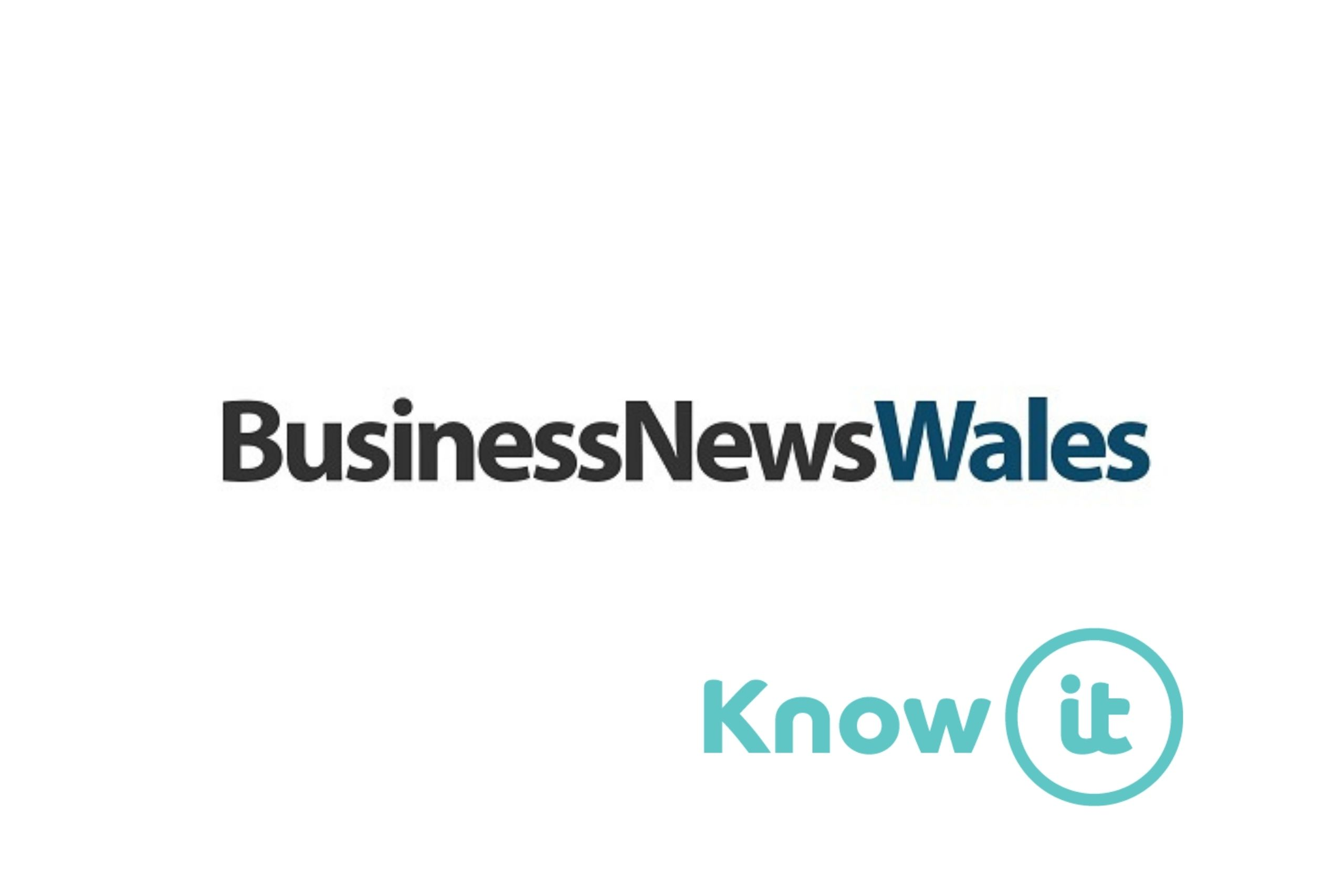 Image with Know-it logo and Business News Wales Logo