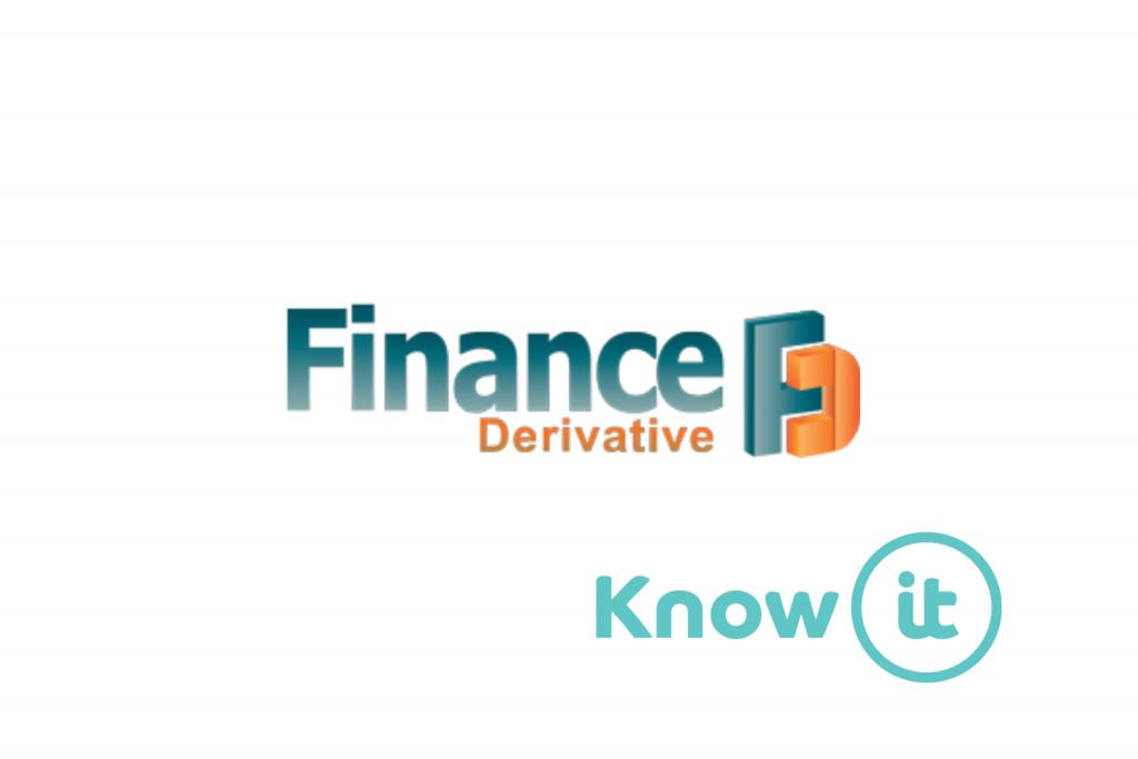 Logo from Finance Derivative alongside Know-it logo