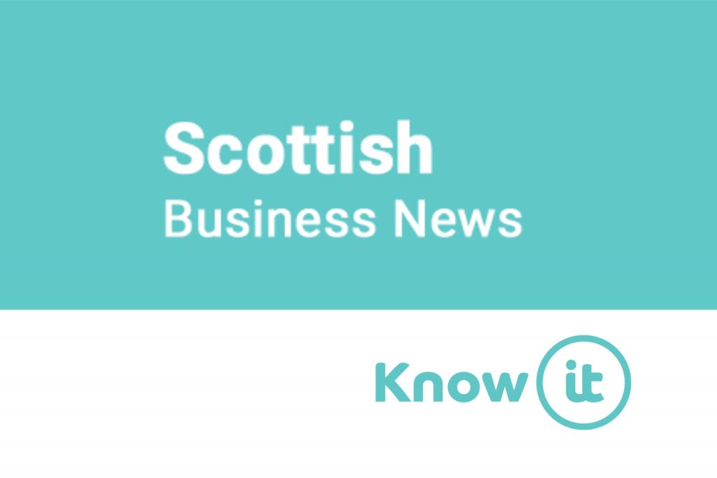 Scottish Business News Logo alongside Know-it logo