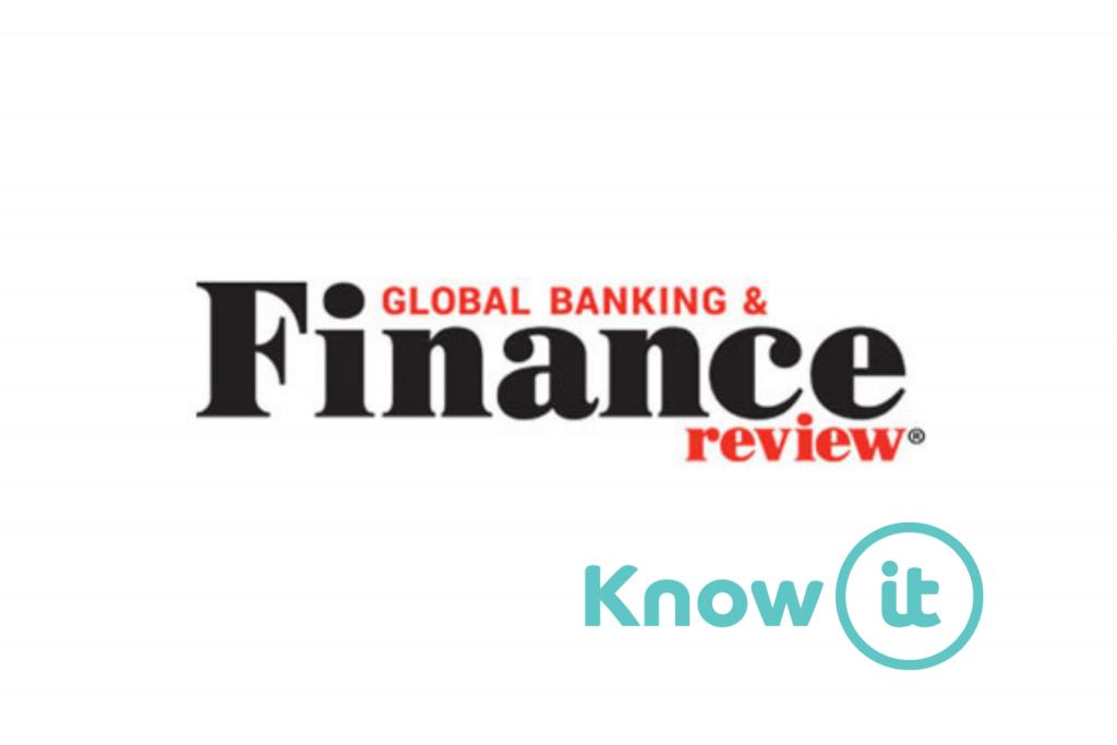 know-it logo alongside global banking finance review
