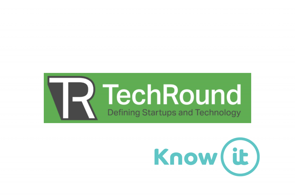 know-it logo placed alongside techround logo